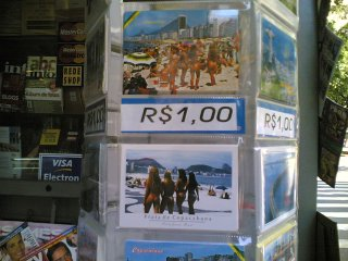 Os cartões proibidos por dona Rosinha