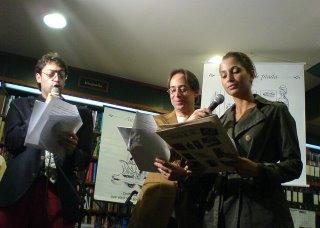 Fernando, Camila, Pedro