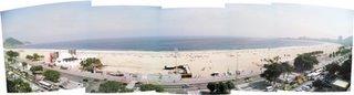 Copacabana vista do Copa